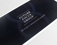 Commitee for Melbourne Graduation dinner branding