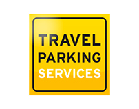 Logo and style Travel Parking