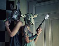"Shooting DJane-Duo ""Les Artistes"""