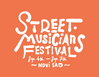 Website for Street Musicians Festival