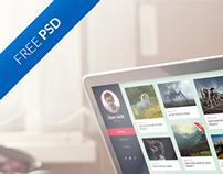 Portfolio Theme  |  FREE PSD!