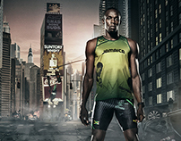 Usain Bolt in NYC