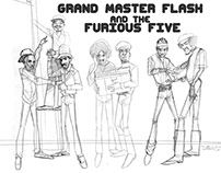 GRANDMASTER FLASH and the FURIOUS 5!!!