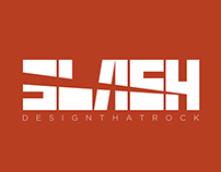 SLASH logo concept