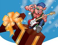 Julekampagne for Nibe Festival