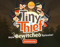Tiny Thief launch Newsletter (English)