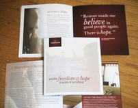 Restore NYC - Book + Brochure for Trafficking Awareness