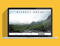 Blanket House Web Design