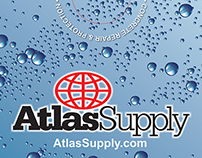 Atlas Supply Cornhole Game Board Art