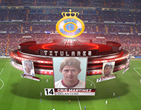 Match Graphics Package - Gol Tv 2014
