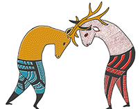 Illustrations des contes des frères Grimm (en cours)
