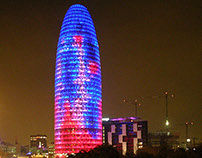 Dibujo Arquitectónico Digital - 2012.II - Torre Agbar