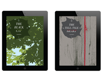 Edgar Allan Poe - iPad / iBooks Cover Set