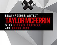 Taylor McFerrin Flier