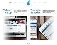 bluefire donations, web
