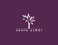 Rebranding | Grupo Alboi