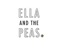 """""""Ella & The Peas"""" // storybook illustration"""