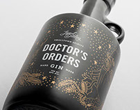 Legend Craft Distillery: Gin Packaging Design