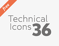 Technical Icons - Free