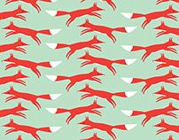 Fox Surface Pattern