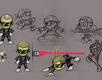 Characters and concepts - Curve Studios