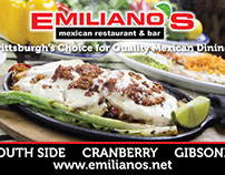 Print and Digital Ads for Emiliano's