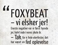Referencer til Foxybeats hjemmeside