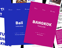 Bali & Bangkok Travel Guide - Free Templates!