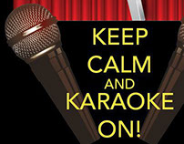 Keep Calm Karaoke T-Shirt