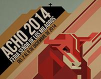 Afiches Feria de Toros Acho 2014