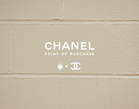 CHANEL Point of Purchase Display
