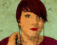 Halftone Self-Portrait
