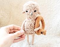 little sheep plush