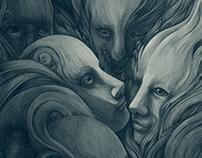 Karel Čapek: Mga Osipon - Book Design & Illustration