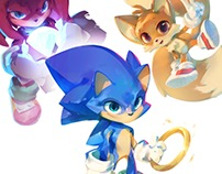 Sonic The Hedgehog Redesigns