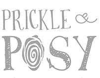 Prickle & Posy logo design