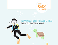 DIVING FOR TREASURES | The Color of Hope