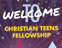 Christian Teens Fellowship - Graphic Posters