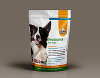 Probiotics for dogs packaging
