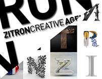 1 0 Z I T R O N - TYPE - FONTS