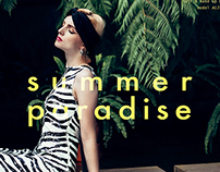 summer paradise for superior magazine