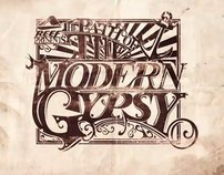 Path of The Modern Gypsy Illustration + Typography
