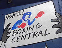 Boxing Central Murals