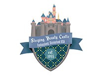 Disneyland Attraction Badges