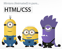 Minions in Pure HTML/CSS