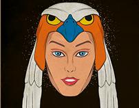 Ilustración Sorceress