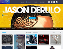 LOVE MUSIC Web Design