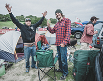 Sea Otter Classic '14 Campsites