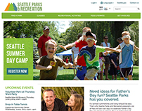 Seattle Parks and Recreation UX Redesign
