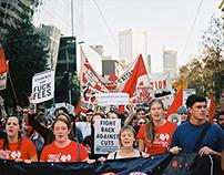 Budget demonstration - Melbourne 2014